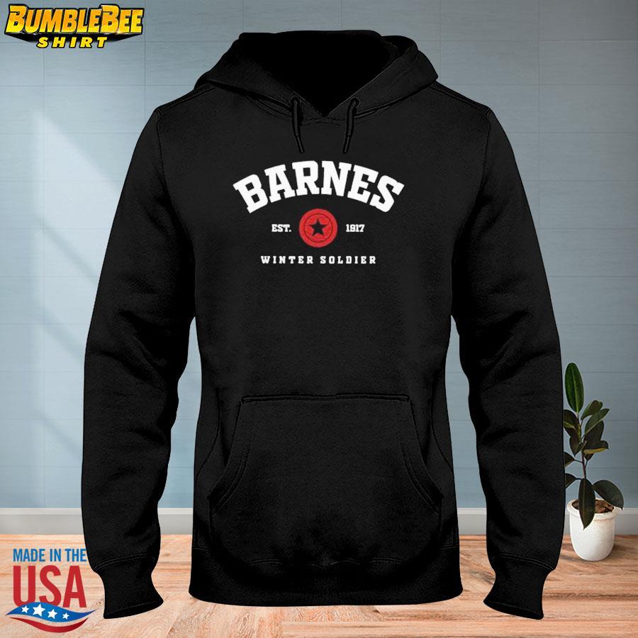 Official Barnes Est 1917 winter soldier s hoodie