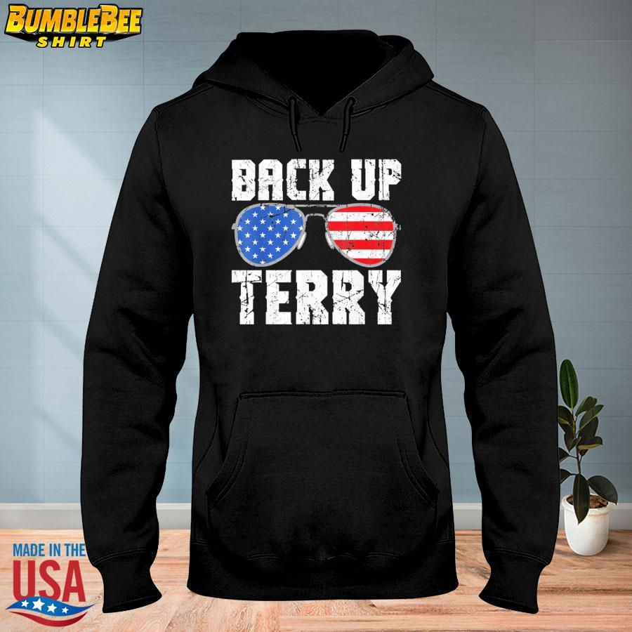 Official Glasses American flag back it up terry s hoodie