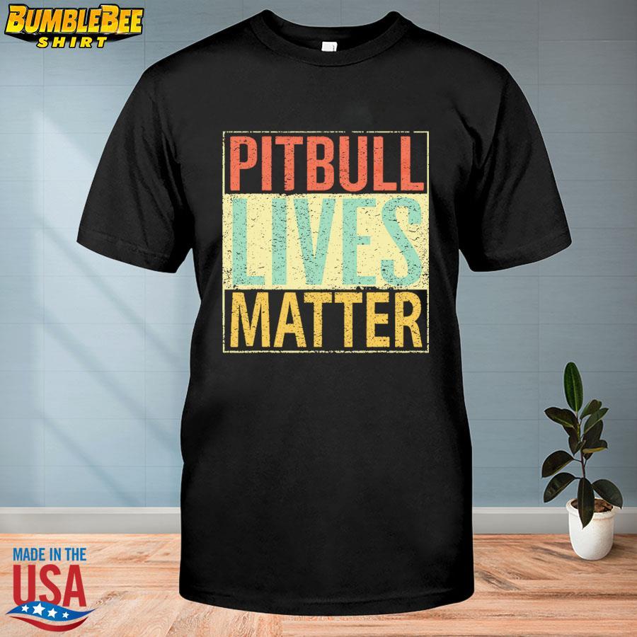 Official Pitbull lives matter shirt