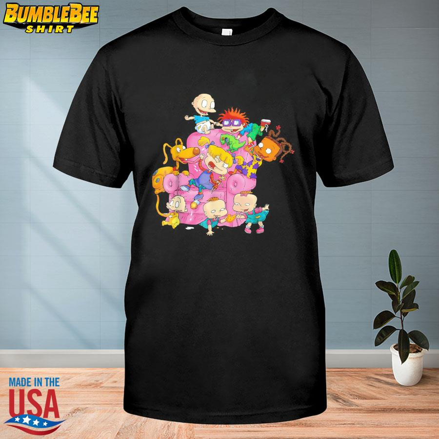 Official The rugrats group couch shirt