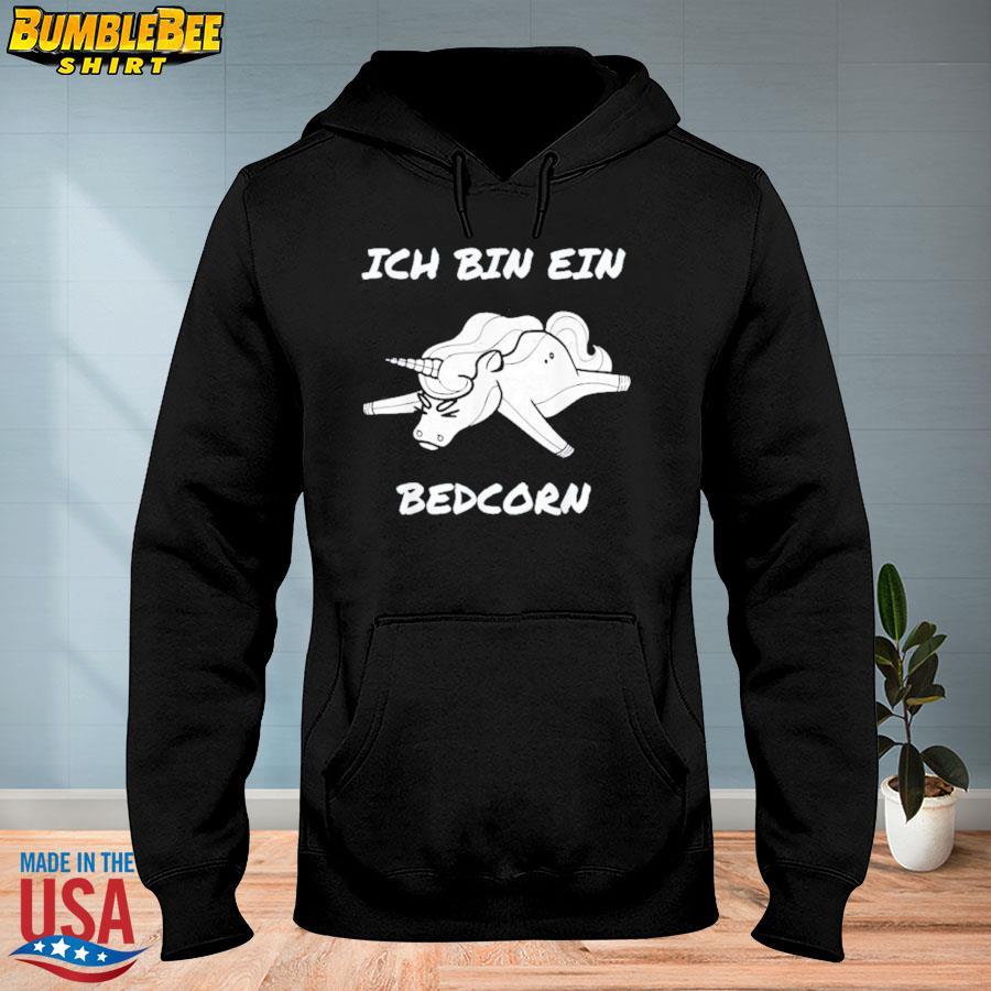Official Unicon ich bin ein bedcorn s hoodie