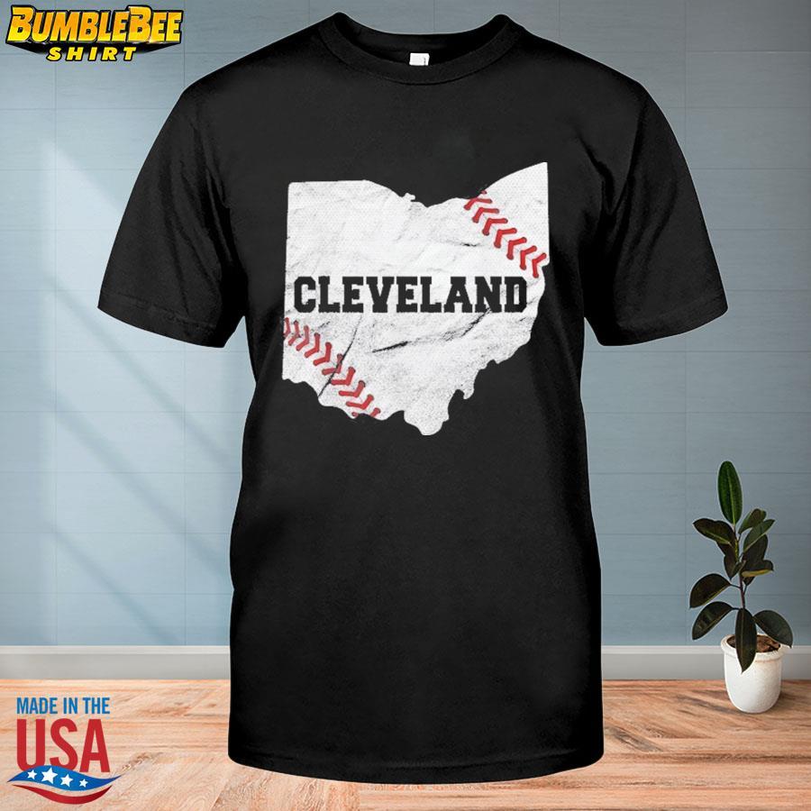 MLB Cleveland Indians Chief Wahoo Shirt