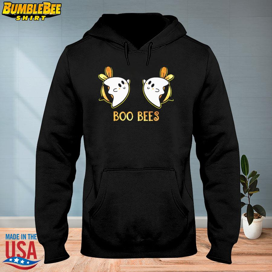 Official Boo bees halloween light cute s hoodie
