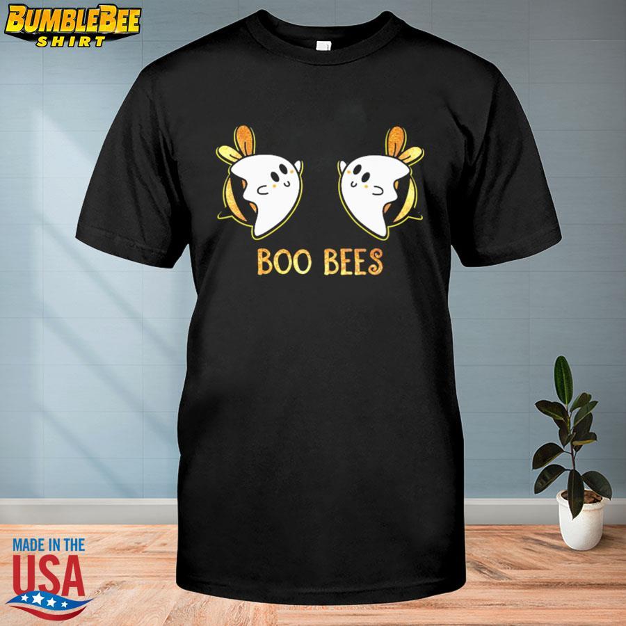 Official Boo bees halloween light cute shirt