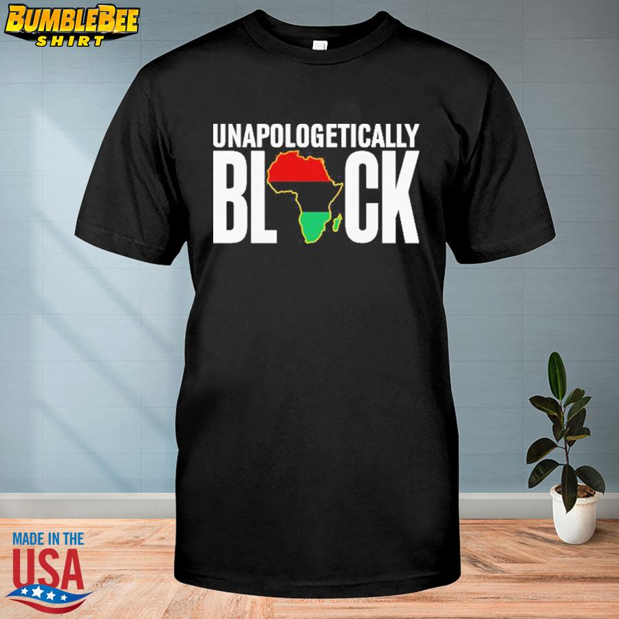 Official Unapologetically Black shirt
