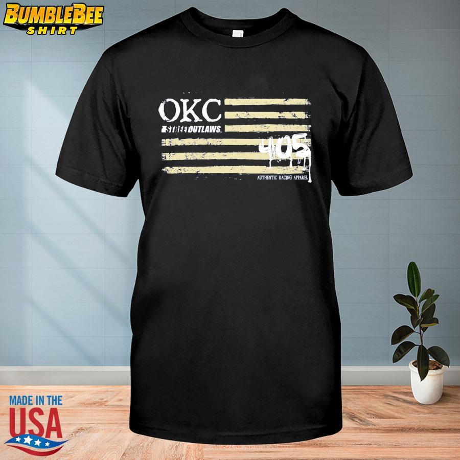 Okc street outlaws 405 racing apparel shirt